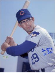 "Don Young Chicago Cubs Autographed 8"" x 10"" Pose Photograph with 69 Cubs Inscription"