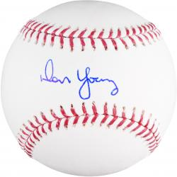 Don Young Autographed Baseball -