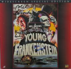Young Frankenstein Signed Autographed Album Cover 4 Sigs PSA/DNA #Z09483