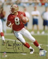 "Steve Young San Francisco 49ers Autographed 8"" x 10"" Photograph"
