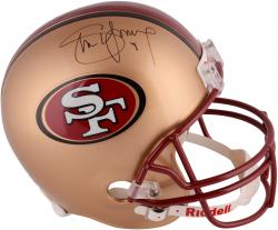 Steve Young San Francisco 49ers Autographed Riddell Replica Helmet