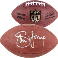 San Francisco 49ers Steve Young Autographed Football - Mounted Memories