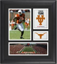 """Vince Young Texas Longhorns Framed 15"""" x 17"""" Collage"""