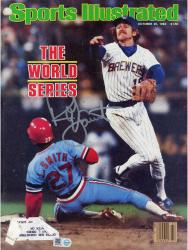 Robin Yount Autographed Sports Illustrated Magazine 10/25/1982