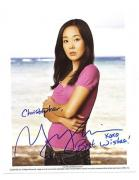 Yunjin Kim-signed photo-30