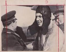 Yuri Gagarin 1961 Daily Mirror Press Photo Type 1 Photograph First Man in Space