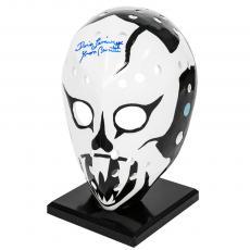 Yvon Barrette as Denis Lemieux Autographed Slap Shot Full Size Goalie Mask