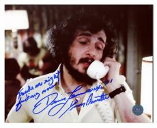 Yvon Barrette as Denis Lemieux Signed Slap Shot Trade Me Right F Now 11x14 Photo