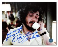 Yvon Barrette as Denis Lemieux Signed Slap Shot Trade Me Right F Now 8x10 Photo