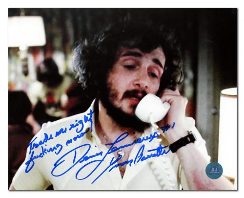Yvon Barrette as Denis Lemieux Signed Slap Shot Trade Me Right F Now 8x10 Photo