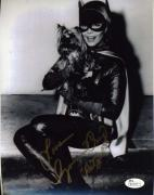 Yvonne Craig Jsa Coa Hand Signed Batgirl 8x10 Photo Authenticated Autograph