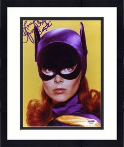 Yvonne Craig Psa Dna Coa Autograph Batgirl 8x10 Photo Hand Signed