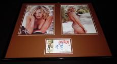 Yvonne Strahovski Signed Framed 16x20 Bikini Photo Set Chuck Dexter