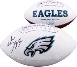 Zach Ertz Philadelphia Eagles Autographed White Panel Football
