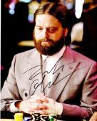 Zach Galifianakis Signed - Autographed The Hangover 8x10 inch Photo - Guaranteed to pass PSA/DNA or JSA