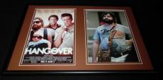 Zach Galifianakis Signed Framed 12x18 Photo Display AW The Hangover