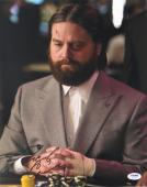 Zach Galifianakis Signed The Hangover Autographed 11x14 Photo (PSA/DNA) #S23164