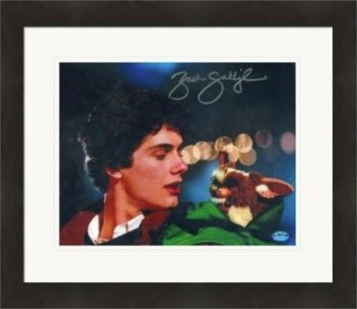 Zach Galligan autographed 8x10 photo (Gremlins Billy Peltzer) #SC1 Matted & Framed
