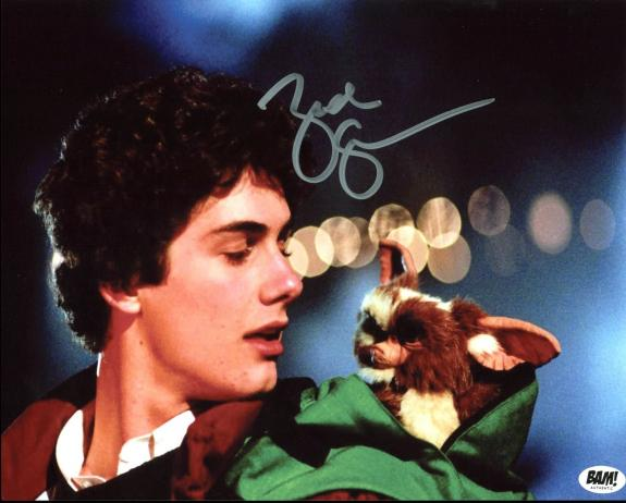 Zach Galligan Gremlins Signed 8X10 BAM BOX Photo Autographed