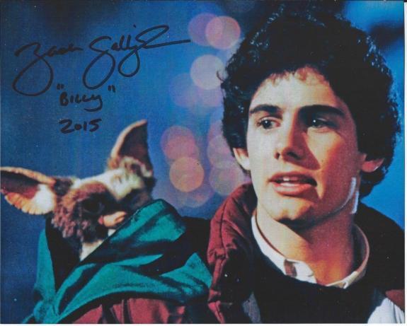 Zach Galligan Signed Gremlins 8x10 Photo