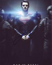 ZACH SNYDER signed *SUPERMAN* Man Of Steel DIRECTOR 8X10 photo W/COA #2