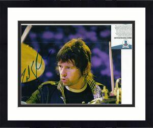 ZAK STARKEY signed (THE WHO) Drummer RINGO STARR 8X10 photo BECKETT BAS T42903