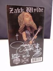 Zakk Wylde Autographed Signed Guitar Gods #'d Bobblehead 85/100 PSA Guaranteed