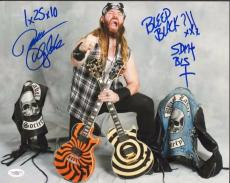 Zakk Wylde (Black Label Society) signed 11x14 - JSA #F87938