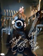 Zakk Wylde Black Label Society Signed 11x14 Photo Jsa Q06432