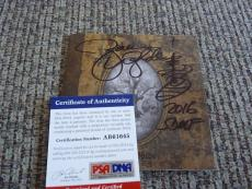 Zakk Wylde BLS Book Of Shadows OZZY Autographed Signed CD Cover PSA Certified