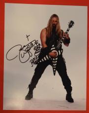 Zakk Wylde Signed Autograph 11x14 Photo Black Label Society Ozzy Osbourne Proof