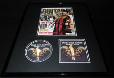 Zakk Wylde Signed Framed 16x20 Guitar Magazine & Black Label Society CD Display