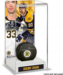 Zdeno Chara Boston Bruins Deluxe Tall Hockey Puck Case