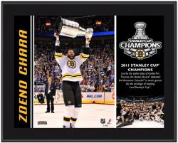 Boston Bruins Zdeno Chara 2011 Stanley Cup Champions Plaque - Mounted Memories