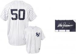 Don Zimmer New York Yankees Autographed White Pinstripe Replica Jersey - Mounted Memories