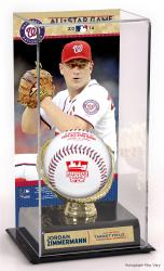 Jordan Zimmermann Washington Nationals 2014 MLB All-Star Game Gold Glove Display Case