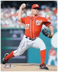 "Jordan Zimmermann Washington Nationals Autographed 16"" x 20"" Photograph"