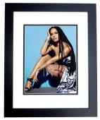 Zoe Kravitz Signed - Autographed Singer - Actress 8x10 inch Photo BLACK CUSTOM FRAME - Guaranteed to pass PSA or JSA - Divergent and Allegiant