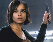Zoe Kravitz signed Divergent Insurgent 8x10 photo W/Coa Christina #1