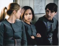 Zoe Kravitz signed Divergent Insurgent 8x10 photo W/Coa Christina #4