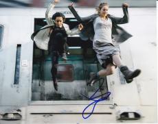 Zoe Kravitz signed Divergent Insurgent 8x10 photo W/Coa Christina #5