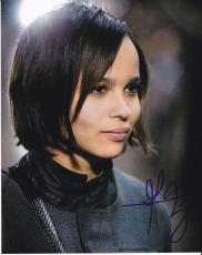Zoe Kravitz signed Divergent Insurgent 8x10 photo W/Coa Christina #7
