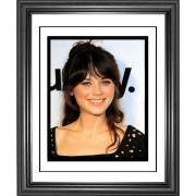 Zooey Deschanel Framed 8x10 Photo