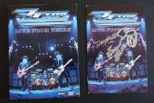 ZZ Top Band Autographed Signed DVD Booklet Cover x All 3 Beckett Certified