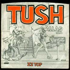 ZZ Top (Beard, Hill & Gibbons) Signed 7x7 Album Sleeve PSA #AB08240