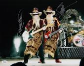 Zz Top Billy Gibbons & Dusty Hill Signed 11x14 Photo Jsa Coa K42202
