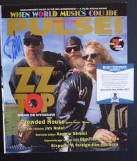 ZZ Top Billy Gibbons Signed Autographed Pulse Magazine Beckett Certified