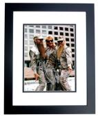 ZZ Top Complete Group Signed - Autographed 11x14 inch Photo by Billy Gibbons, Frank Beard, and Dusty Hill - BLACK CUSTOM FRAME - Guaranteed to pass PSA or JSA