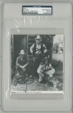 ZZ Top Signed Autographed Slabbed Cut Gibbons/Hill/Beard (PSA/DNA) #83464449